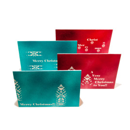 Aloe Pattern Christmas Cards